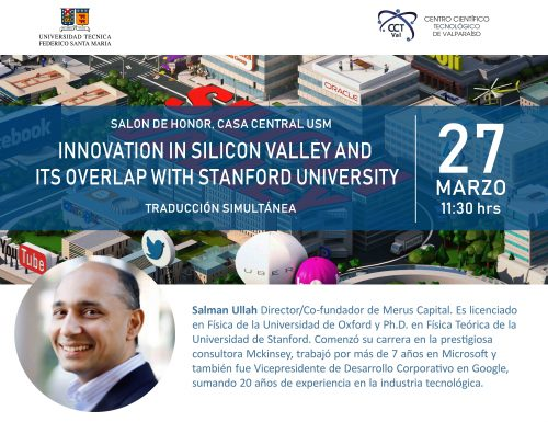 """Charla: """"Innovation in Silicon Valley and its overlap with Stanford University"""""""