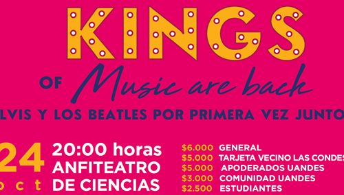 """Concierto Sinfónico Coral: """"Kings of music are back"""""""