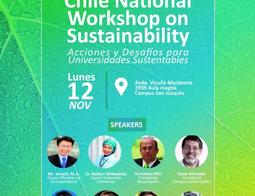 """Chile National Workshop """"Actions and challenges for green and sustainable universities"""""""